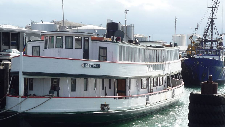 111-year-old Kestrel ferry salvaged